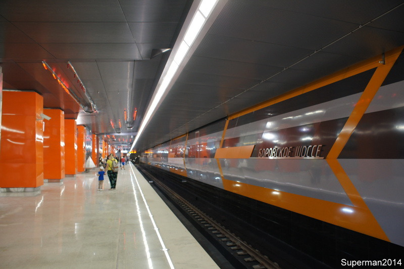"""The magnificent seven Station, branches, Moscow, metro, """"Rasskazovka"""", operation, stations, section, Yellow, Thursday, enough, line, Ring, connects, because, inconvenient, line, will, I think, change"""