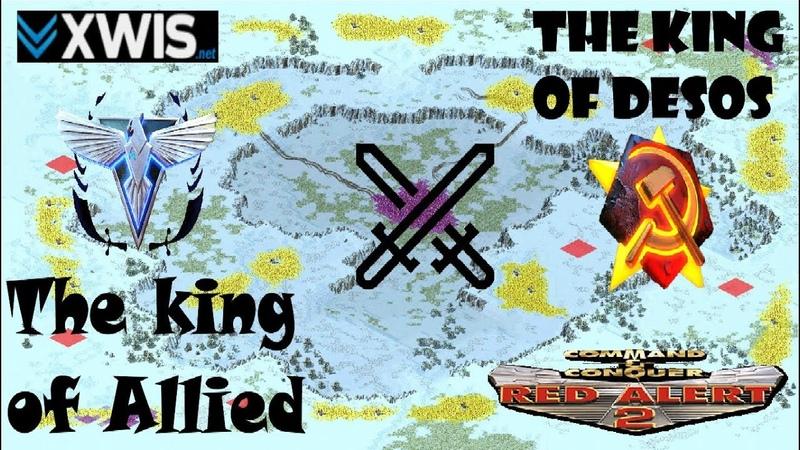 Red Alert 2 - Insane 1 vs 1 Allied vs Soviet Pro Match on the map Heck Freezes Over