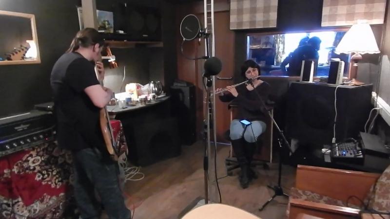 Джем в студии Церкви святой Екатерины - Крис и флейта