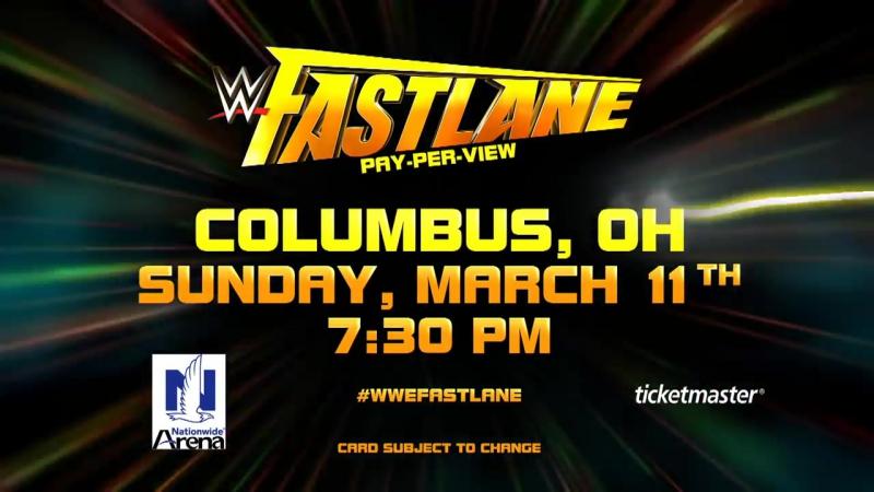 WWE Fastlane addition- 2018