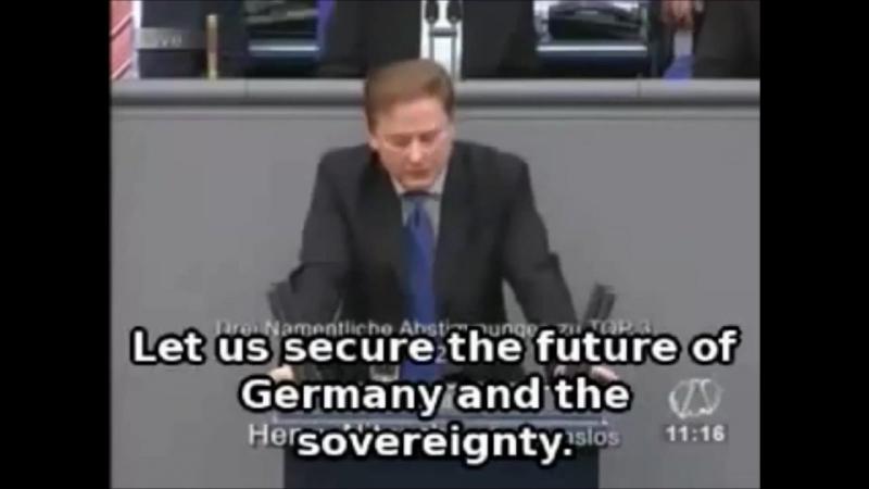 Henry Nitzsche über fehlende Souveränität Deutschlands (2013)