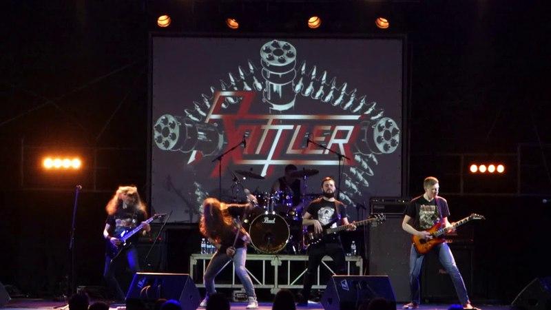 Rattler - Machine Gun (Live at Bingo club, Kiev, 16.03.2018)