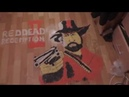 Red Dead Redemption 2 art made of rice with his own hands сделал руками