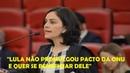 Advogada destrói Lula e sua defesa no TSE:Não promulgou tratado da ONU e quer se beneficiar dele