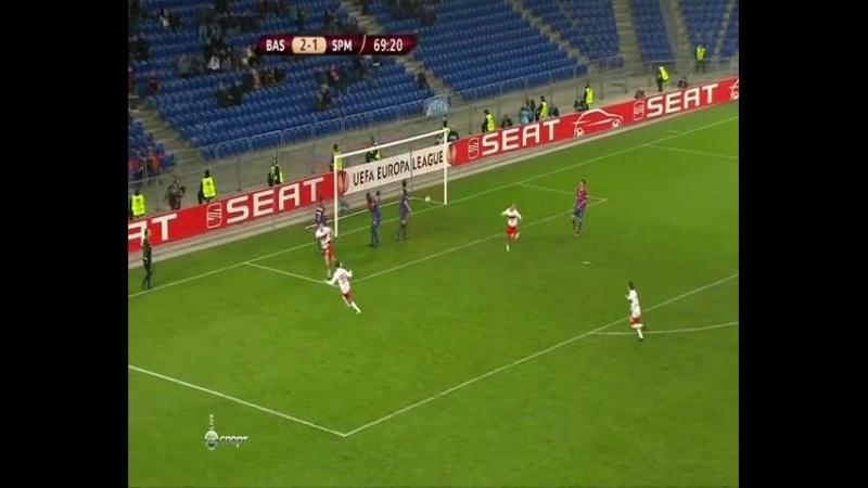 Базель - СПАРТАК. Лига Европы. 17.02.2011