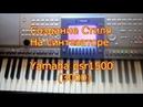 Создание стиля на синтезаторе Yamaha psr15003000