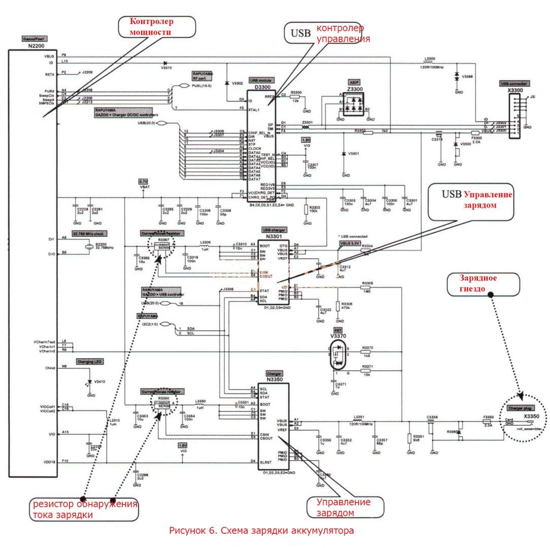 Схема блока центральным замком