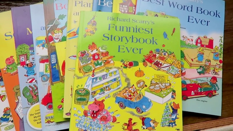Richard Scarrys Funniest Storybook Ever 史上最爆笑故事集 The Talking Bread 會說話的麵包