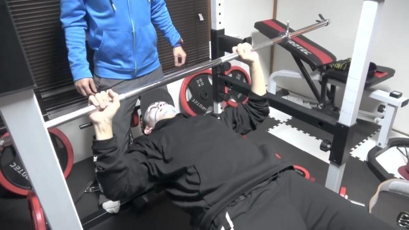 Jrokku VS GUTS AND DEATH Штанга