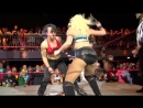 Cuntbust punch wrestling