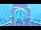 ДЕД МОРОЗ - новогодняя детская развивающая песенка для малышей про трактор и снеговика