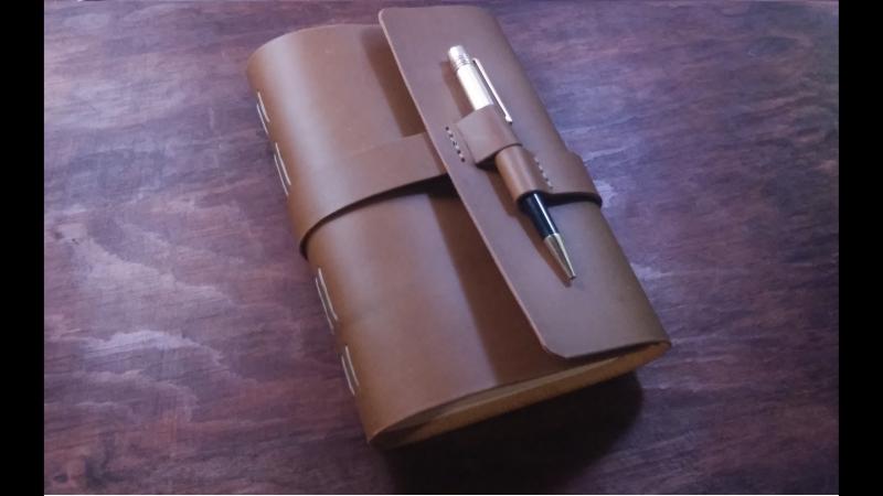 Блокнот SoftBook ручной работы из натуральной кожи А5