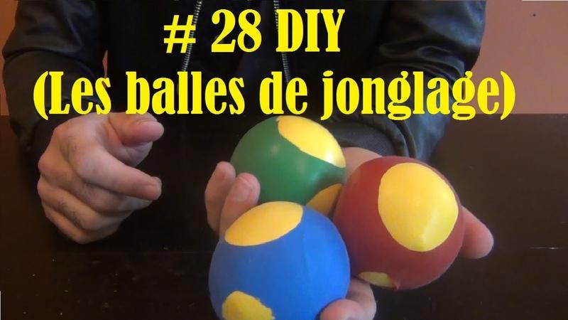 DIY - Bricolage à faire à la maison 29 (les balles de jonglage)