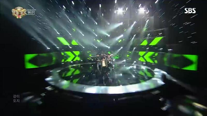 《Comeback Special》 PENTAGON (펜타곤) - Can You Feel It (감이 오지) @인기가요 Inkigayo 20161218