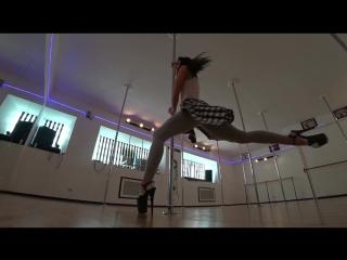 Diana Zaitseva Exotic Pole Dance