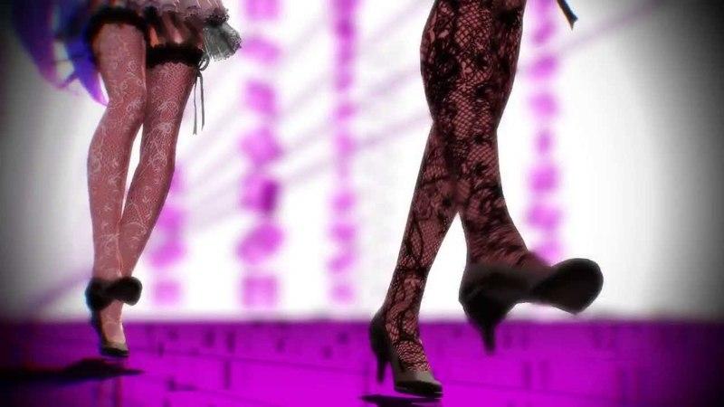 【MMD】Girls【Tda式改変ミク、ルカ】