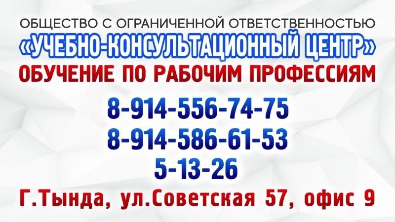 ООО Учебно-консультационный центр 5-13-26 г.Тында 2018г.