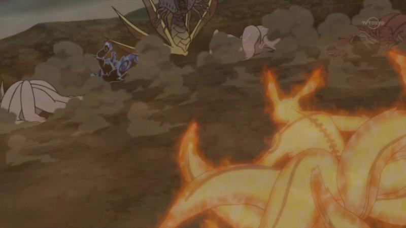Наруто Какаши и Гай против Обито и биджу: Масаюки Коуда - 5 сентября 2013 (эпизод 329)