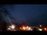 Увидели НЛО в центре города ?