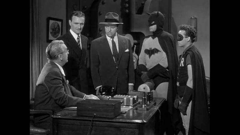 Бэтмен и Робин (1949) 13 серия ( перевод одноголосый)