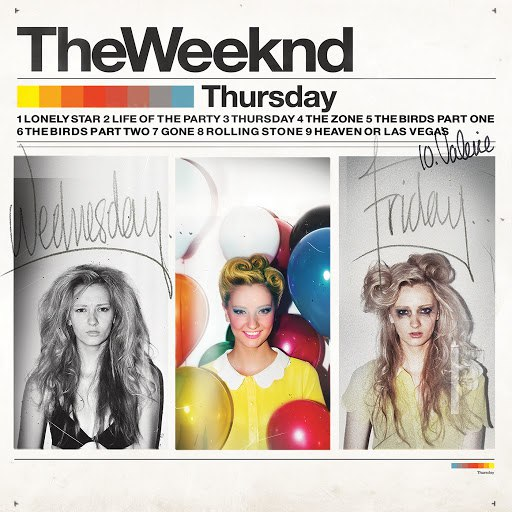 The Weeknd альбом Thursday