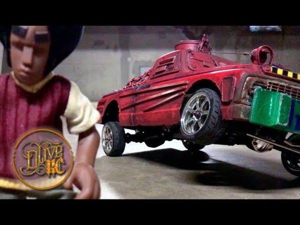 RC LOWRIDER CHASSIS HOMEMADE Build Drive