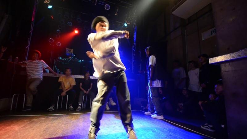 Youki [Atrandom] vs ICEE [Forzesound]|Semifinal '18.6/8『THE CROWN 2018』vol.3 MALE | Danceproject.info