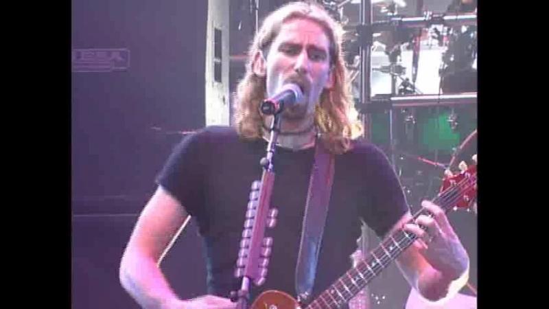 Nickel Back-Live In Edmonton Canada 2002