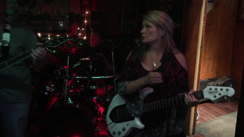 Rena Sands Petrucci performs Heading Out to the Highway with the band Damage Control