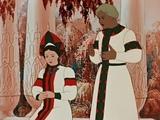 Аленький цветочек Мультфильм советский  для детей смотреть онлайн