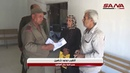 Hundreds of families return to their homes in Harran al-Awamid after forcible displacement of more than five years by terrorism