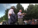 Чувашия против пенсионной реформы. 17.07.2018, сквер Чапаева, выступление Молякова
