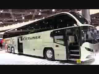 2019 Neoplan Cityliner L Luxury Coach - Exterior and Interior Walkaround - 2018 _low.mp4
