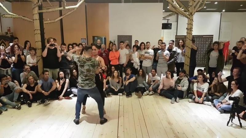 Daniel y Desiree - Farsante - Murcia fusión 2018