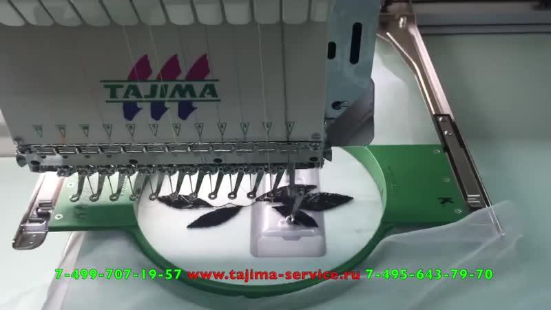 TAJIMA серия TMAR вышивка на органзе, тюли или капроне