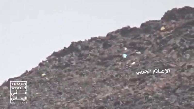 Война в Йемене. Работа снайпера хуситов