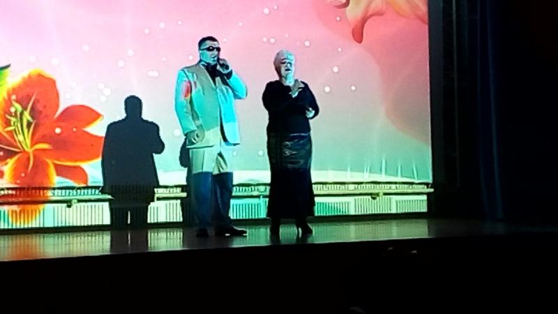 Елена Каменщикова и Рубен Алмазов ДКПламя 7.01.2018