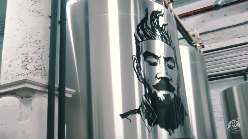 AF BREW TAPROOM FACTORY | PROMO 2018 @ ACULA PIE