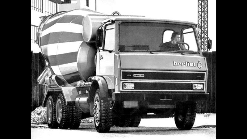 Berliet GRH 230 64 Mixer 1975 78