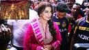 Juhi Chawla opening Durga puja pandel Juhi Chawla opening Beliaghata puja pandel