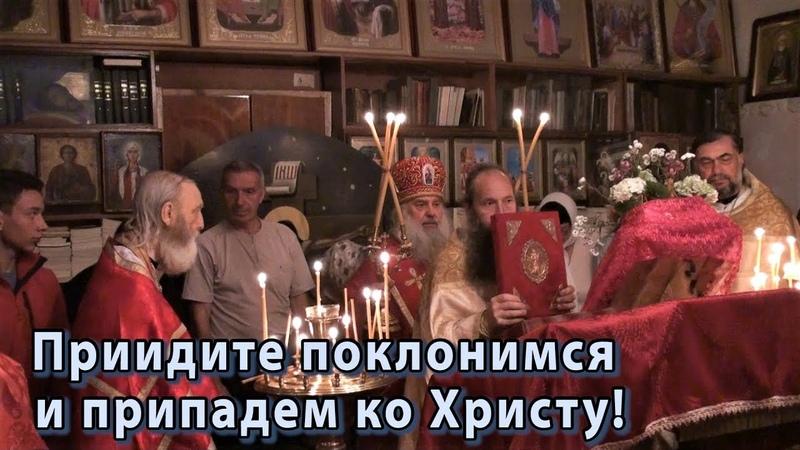 РПАЦ. Малый Вход в храме Новомучеников Российских.
