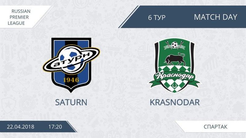 AFL18. Russia. Premier League. Day 6. Saturn - Krasnodar