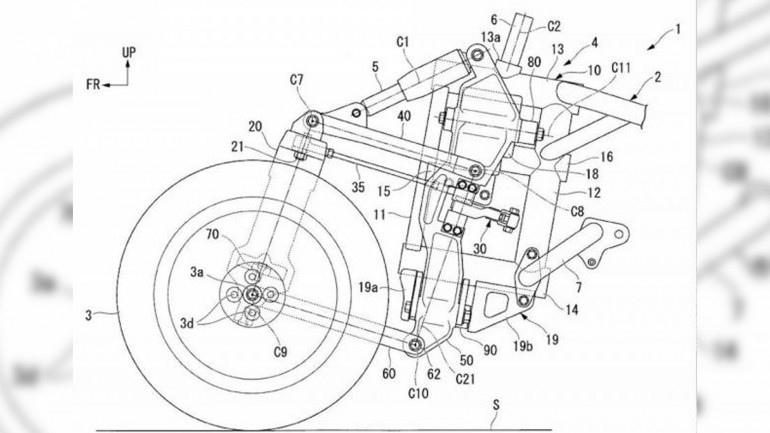 Компания Honda разрабатывает наклоняющуюся подвеску