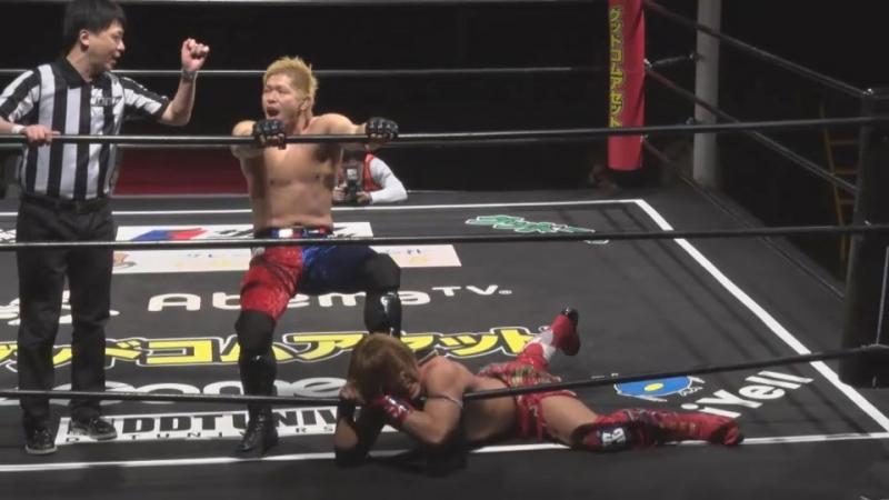 Keisuke Okuda vs Shunma Katsumata DDT DNA 43 ~ DNA Super Tag Tournament Final ~