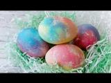 Как быстро покрасить пасхальные яйца