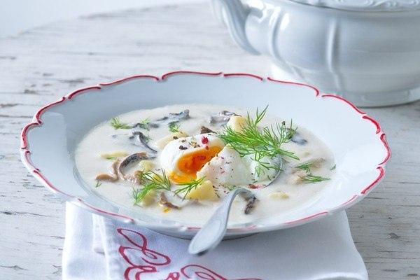 чешская кулайда изысканный суп украшает меню лучших ресторанов праги. пускай же он украсит и ваше домашнее меню! традиционная чешская кулайда – это очень густой суп из грибов и картошки с яйцом. но даже несмотря на то, что чехия совсем небольшая