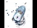 Медведица, в копилку новогодних дизайнов 🎄🎄🎄