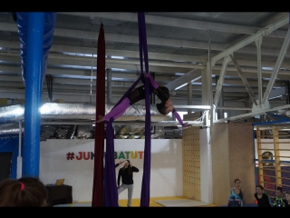 Воздушная акробатика г. Сибай. Гусева Виктория (руководитель Пономарева Уралия)