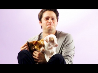Дилан О'Брайен и щенята для «BuzzFeed» (русские субтитры)