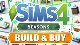 FULL BUILD & BUY SHOWCASE | The Sims 4: SEASONS (Early Access Review)
